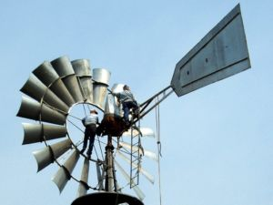 Tilting Motor Works >> 20 Foot Aermotor Windmill | Rock Ridge Windmills