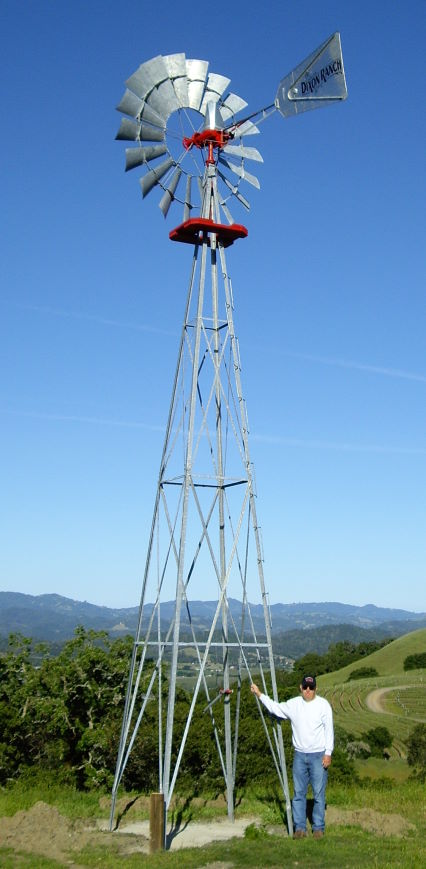 Windmill for pumping water