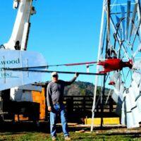 Big Aermotor Windmill