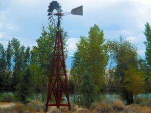Aermotor Windmill on Wood Tower