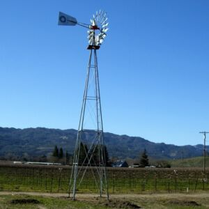 Aermotor windmill and tower