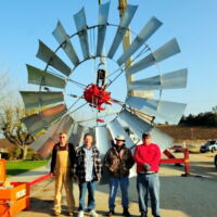 Big windmill in Temecula
