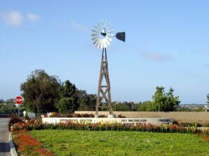 windmill at a irvine park